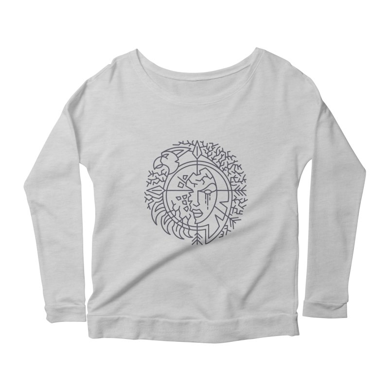 Undead - World of Warcraft Crest Women's Longsleeve T-Shirt by dcmjs