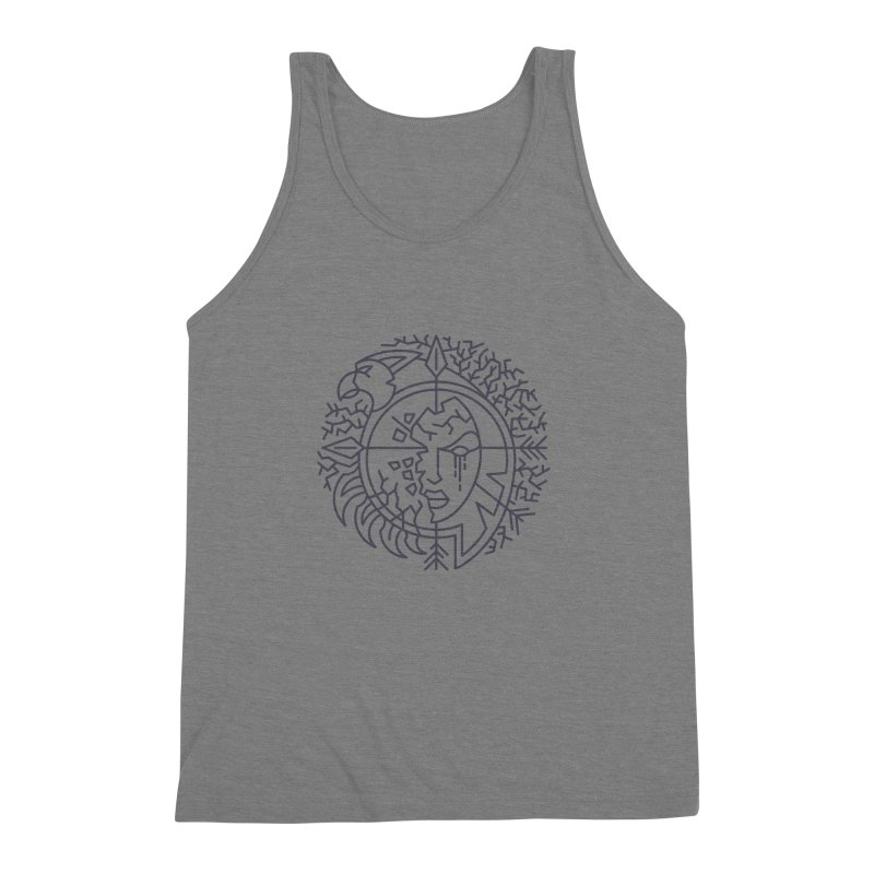 Undead - World of Warcraft Crest Men's Triblend Tank by dcmjs