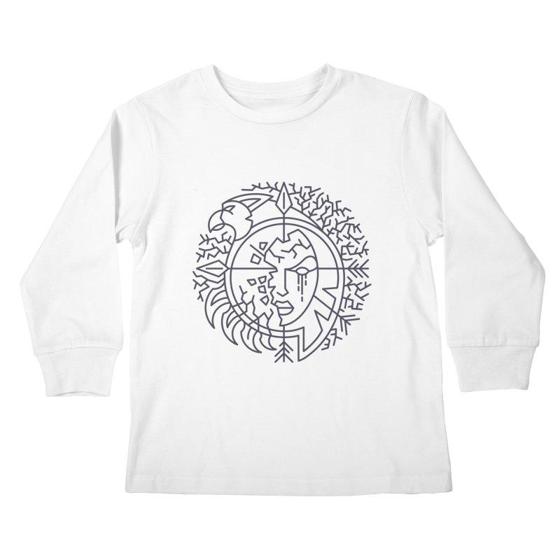 Undead - World of Warcraft Crest Kids Longsleeve T-Shirt by dcmjs