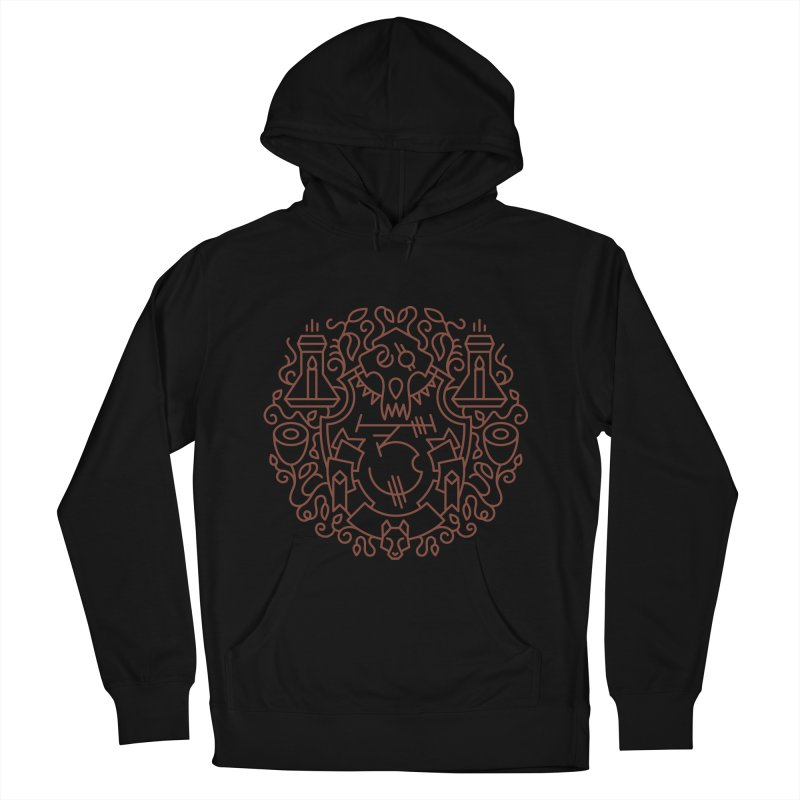 Worgen - World of Warcraft Crest Men's French Terry Pullover Hoody by dcmjs