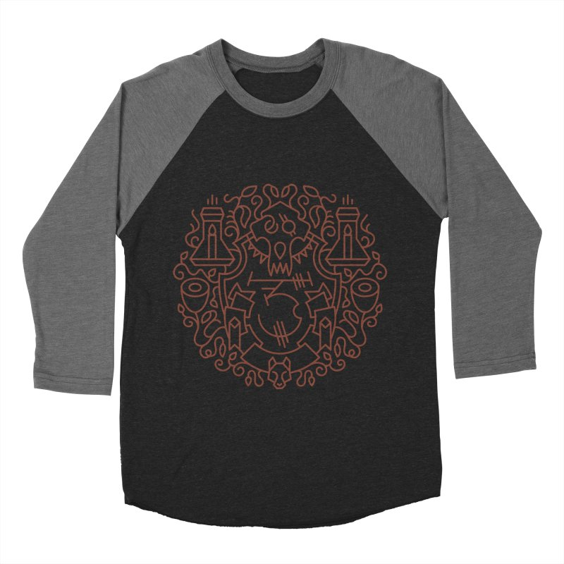 Worgen - World of Warcraft Crest Women's Baseball Triblend T-Shirt by dcmjs