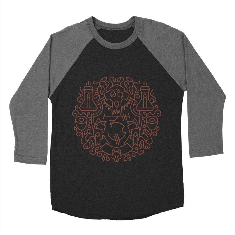 Worgen - World of Warcraft Crest Men's Baseball Triblend Longsleeve T-Shirt by dcmjs