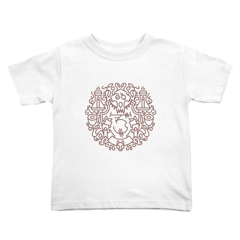 Worgen - World of Warcraft Crest Kids Toddler T-Shirt by dcmjs