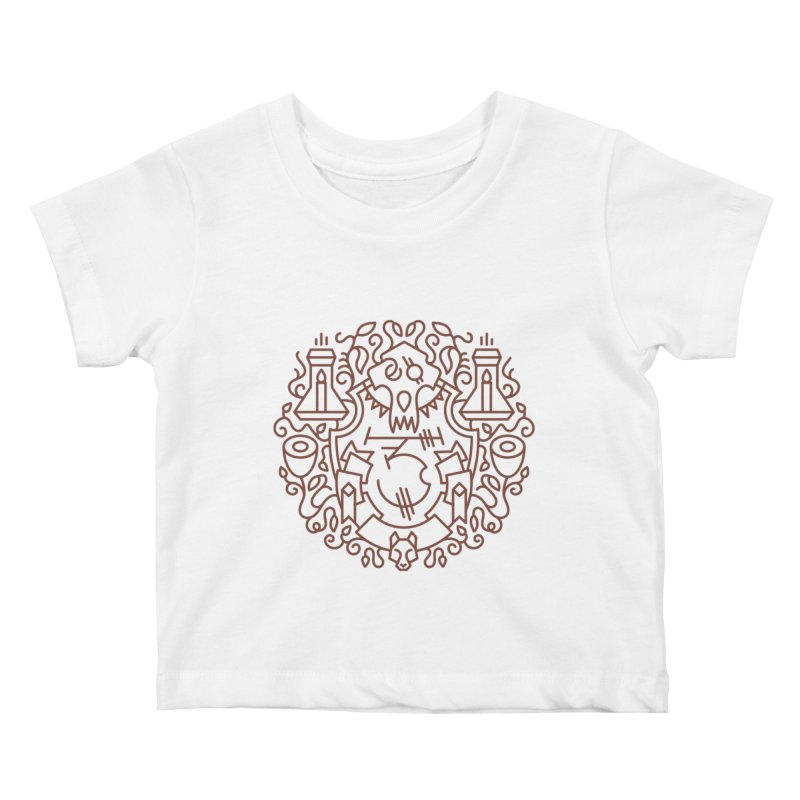 Worgen - World of Warcraft Crest Kids Baby T-Shirt by dcmjs