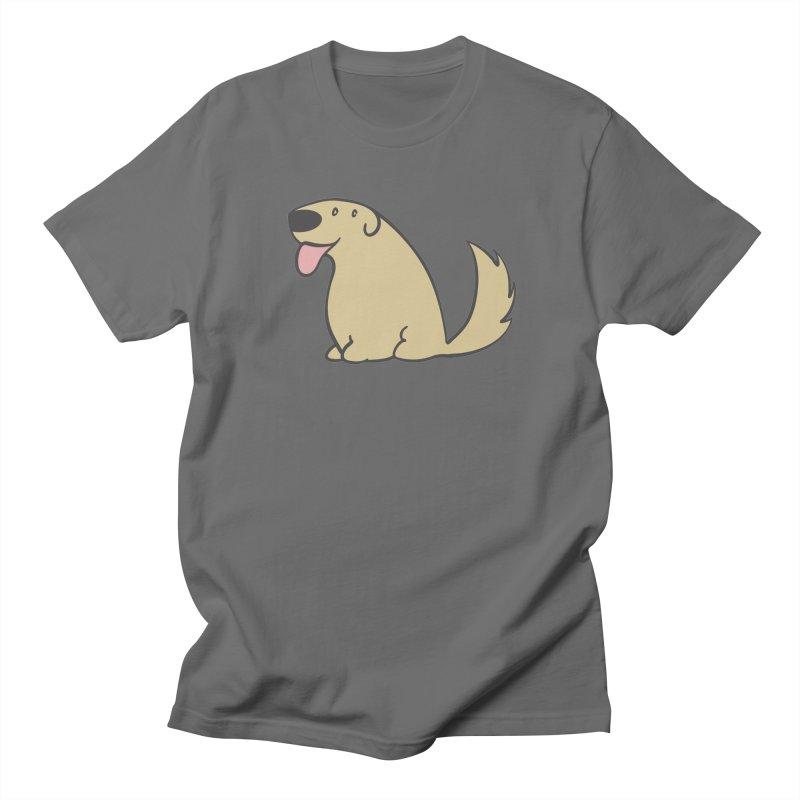 Pupperino Retriever Men's T-Shirt by dcobco's Artist Shop