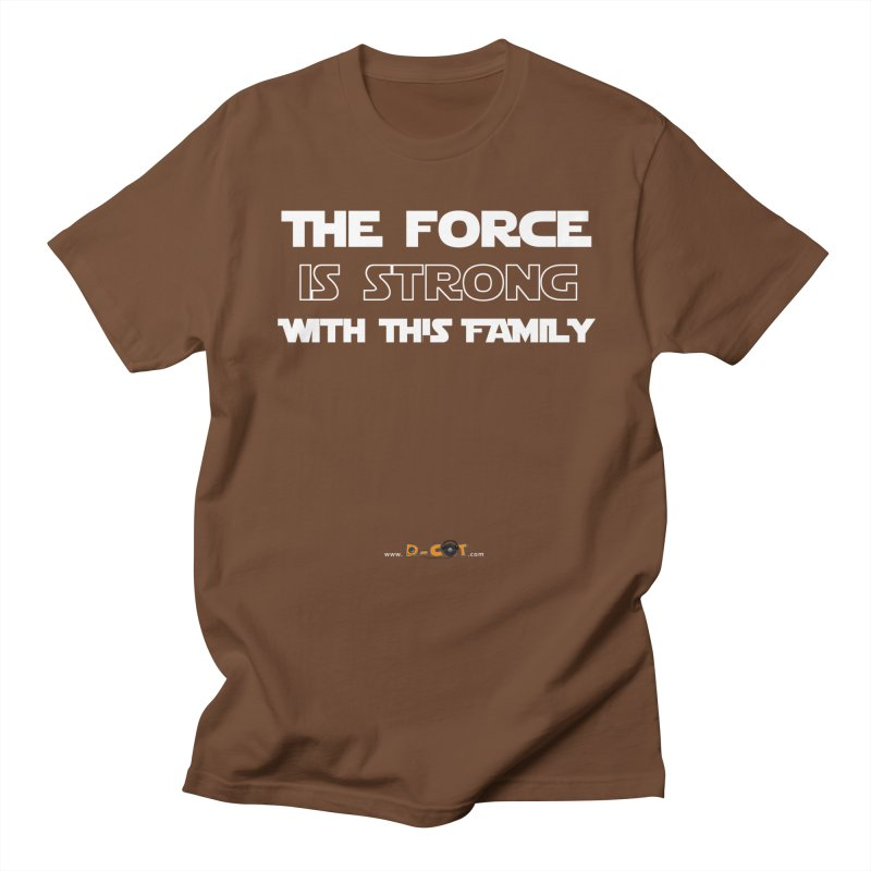 Force Family in Men's Regular T-Shirt Brown by The D-CoT Shop