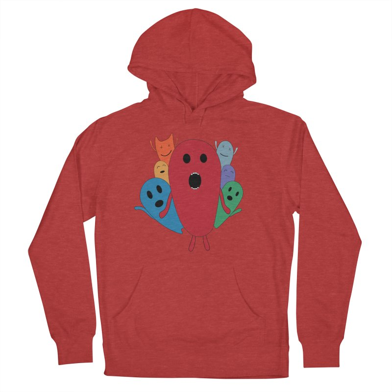 MY CHRISTMAS MONSTERS WINTER '08 HOODIE EDITION Women's French Terry Pullover Hoody by D.design