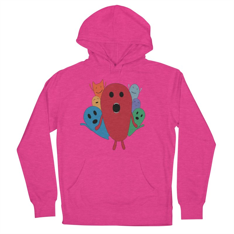 MY CHRISTMAS MONSTERS WINTER '08 HOODIE EDITION Women's Pullover Hoody by D.design