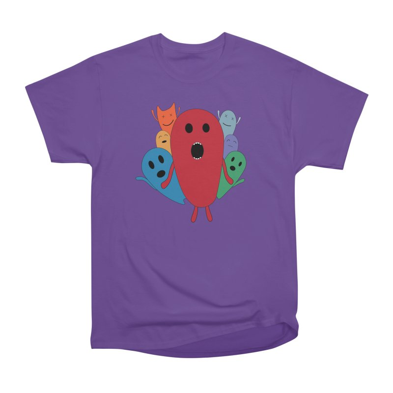 MY CHRISTMAS MONSTERS WINTER '08 HOODIE EDITION Women's Heavyweight Unisex T-Shirt by D.design
