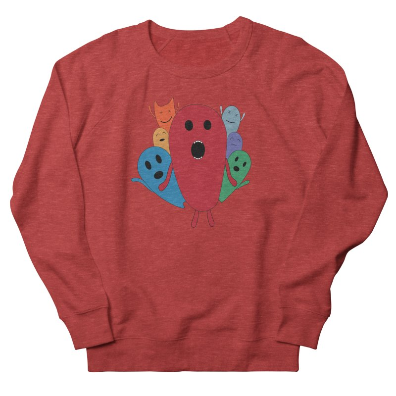 MY CHRISTMAS MONSTERS WINTER '08 HOODIE EDITION Women's French Terry Sweatshirt by D.design