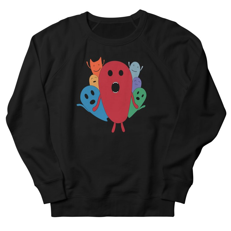 MY CHRISTMAS MONSTERS WINTER '08 HOODIE EDITION Men's French Terry Sweatshirt by D.design