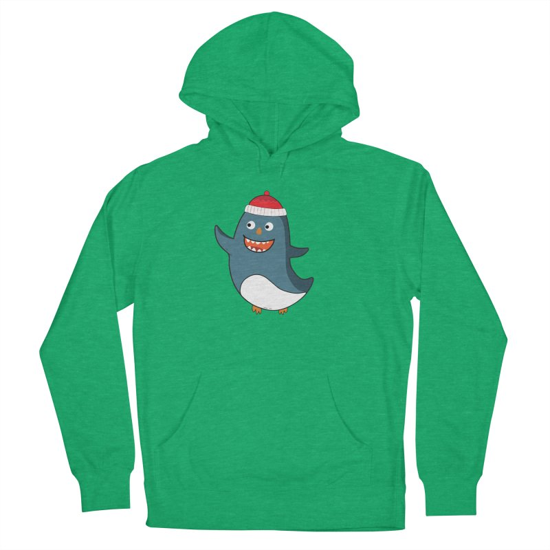 Wait me I'm pinguine Winter '08 Edition Women's Pullover Hoody by D.design