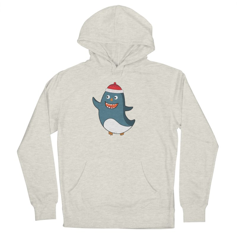 Wait me I'm pinguine Winter '08 Edition Women's French Terry Pullover Hoody by D.design