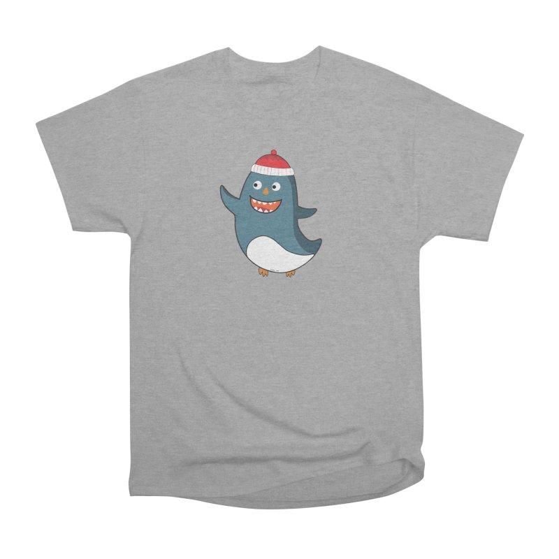 Wait me I'm pinguine Winter '08 Edition Men's Classic T-Shirt by D.design