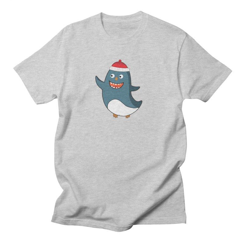 Wait me I'm pinguine Winter '08 Edition Men's T-Shirt by D.design