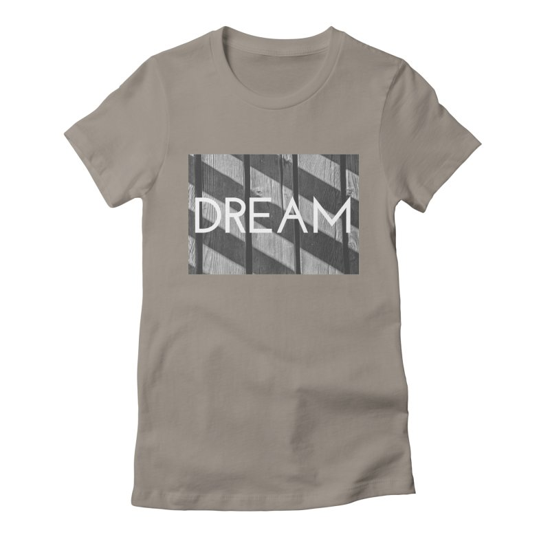 Dream Women's Fitted T-Shirt by ddesigns by ddespair