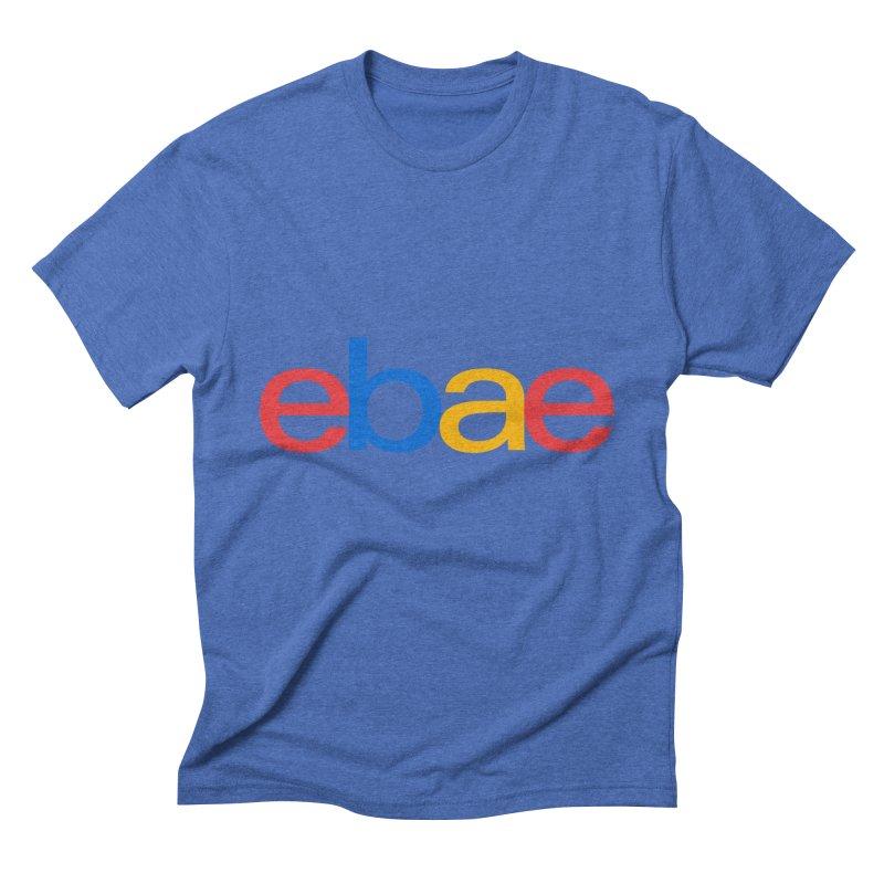 eBae Men's Triblend T-shirt by ddesigns by ddespair
