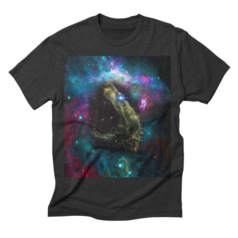 Devour the Stars Men's Triblend T-shirt by ddesigns by ddespair