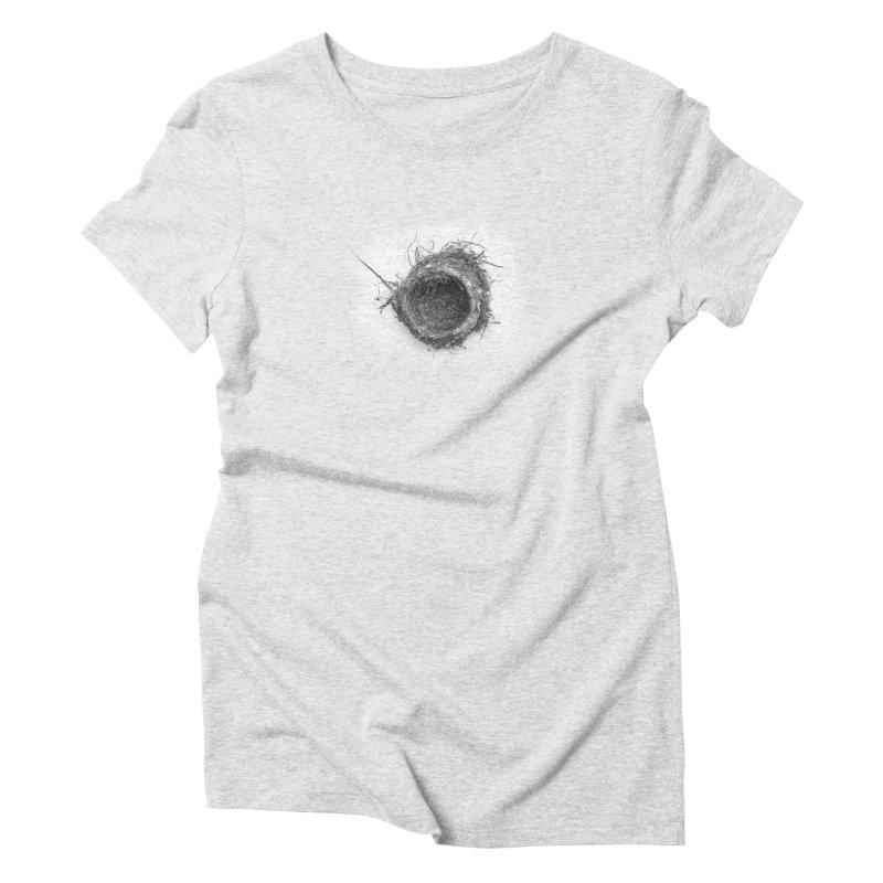 Nest Women's Triblend T-shirt by ddesigns by ddespair