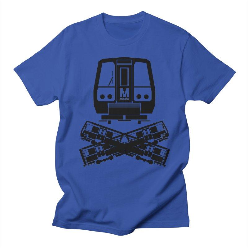 METRO Crossbones Men's T-shirt by ddesigns by ddespair