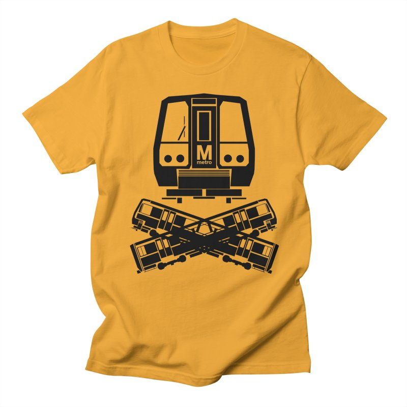 METRO Crossbones Men's T-shirt by ddesigns by ddespair