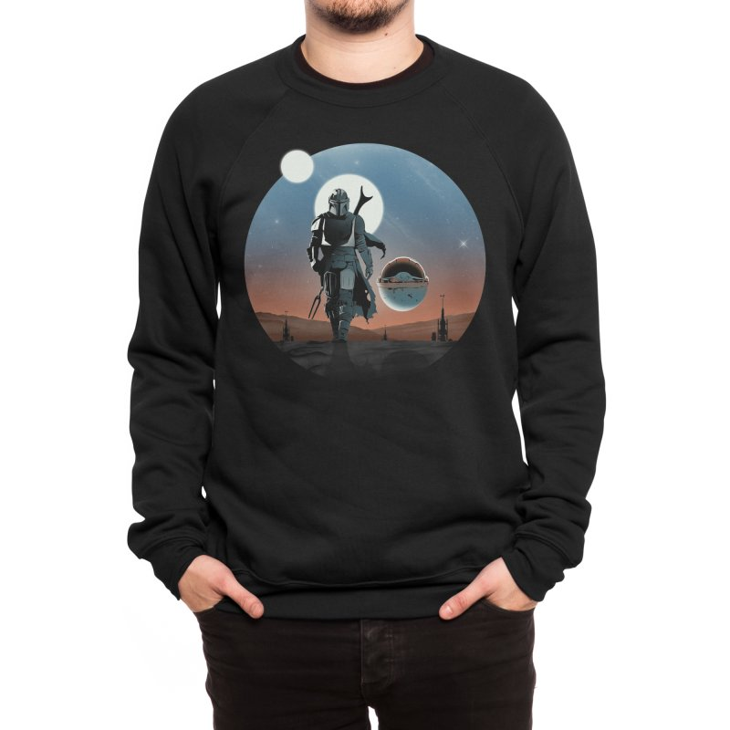 Protect the child - mandalorian Men's Sweatshirt by ddjvigo