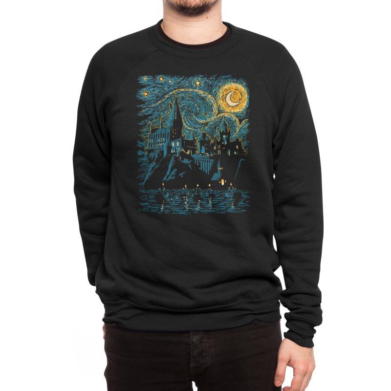 Starry School - Hogwarts Men's Sweatshirt by ddjvigo