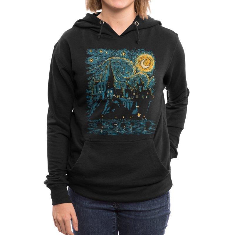 Starry School - Hogwarts Women's Pullover Hoody by ddjvigo