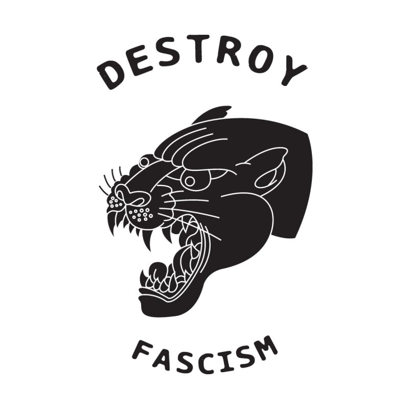 Destroy Fascism None  by DEADBEAT HERO Artist Shop