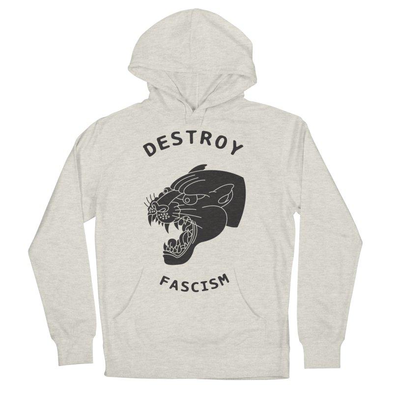 Destroy Fascism Men's Pullover Hoody by DEADBEAT HERO Artist Shop