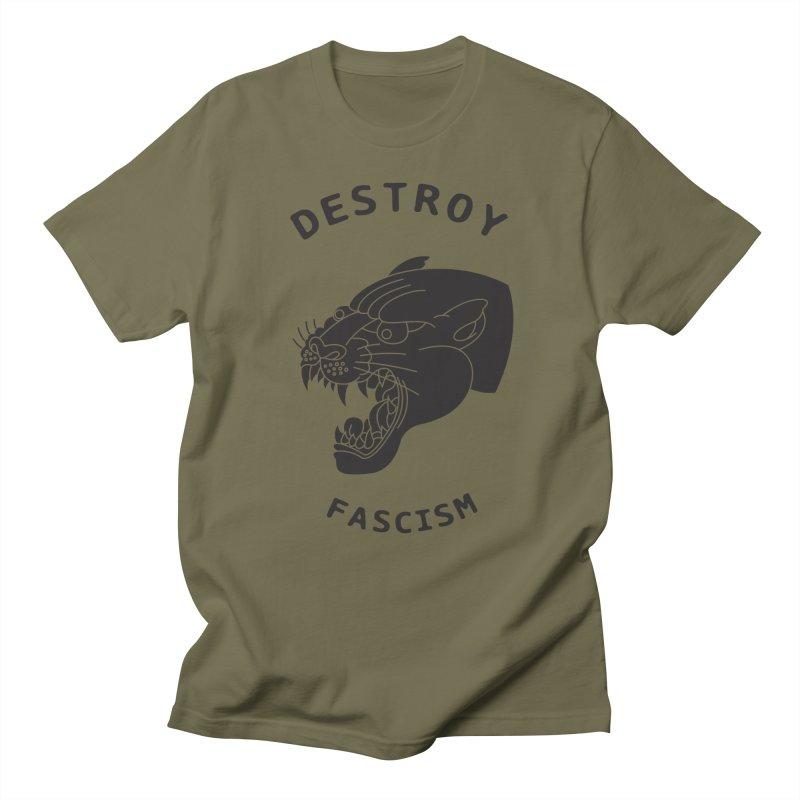 Destroy Fascism Women's Unisex T-Shirt by DEADBEAT HERO Artist Shop
