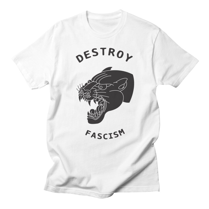 Destroy Fascism Women's Regular Unisex T-Shirt by DEADBEAT HERO Artist Shop
