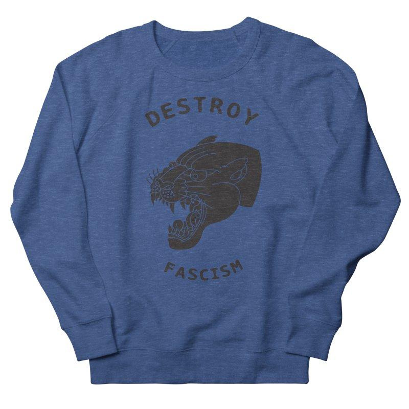 Destroy Fascism Women's Sweatshirt by DEADBEAT HERO Artist Shop