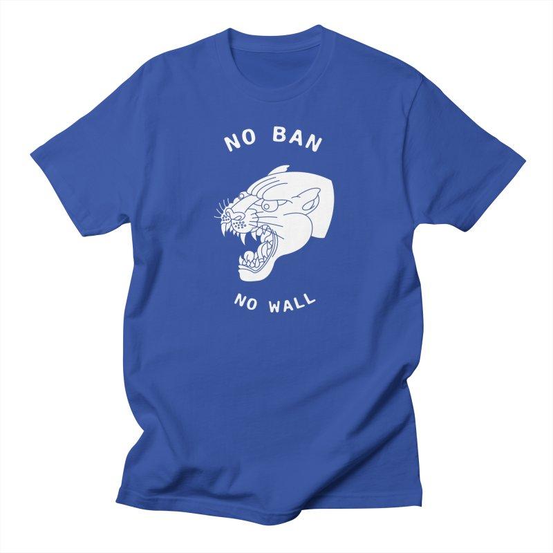 No Ban No Wall Men's T-shirt by DEADBEAT HERO Artist Shop