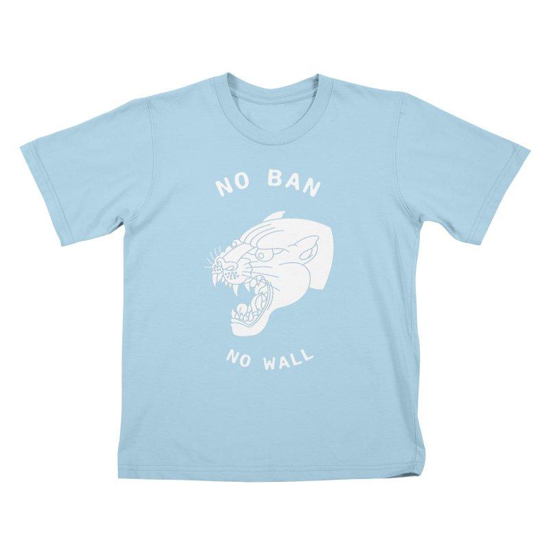No Ban No Wall Kids T-shirt by DEADBEAT HERO Artist Shop