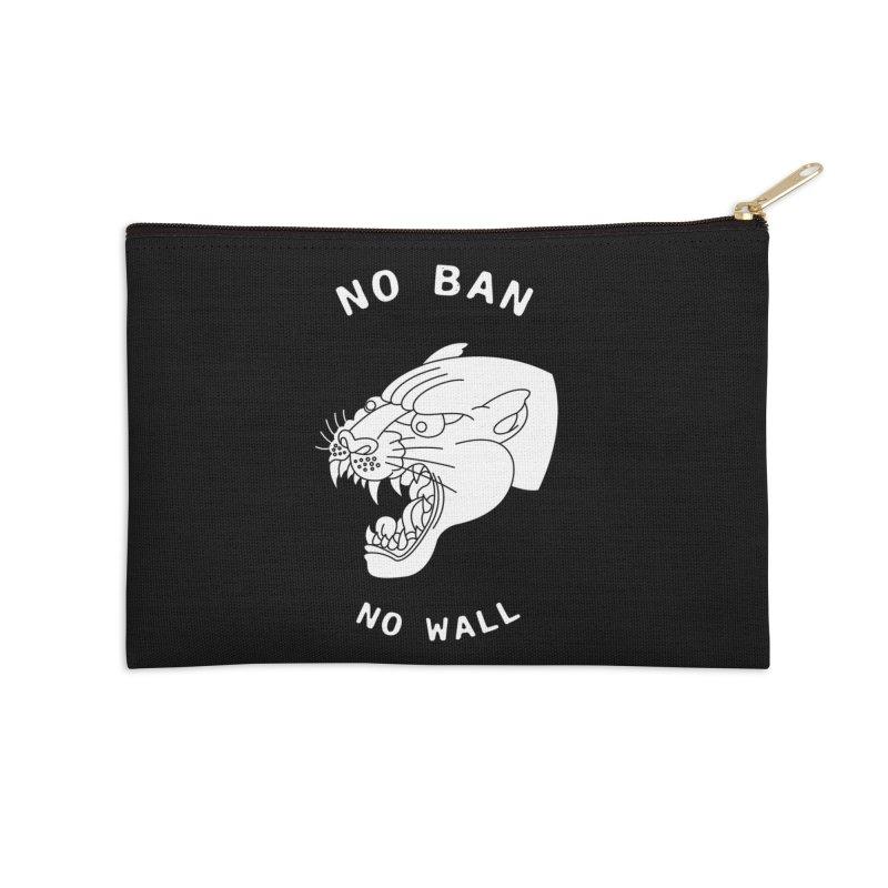 No Ban No Wall Accessories Zip Pouch by DEADBEAT HERO Artist Shop