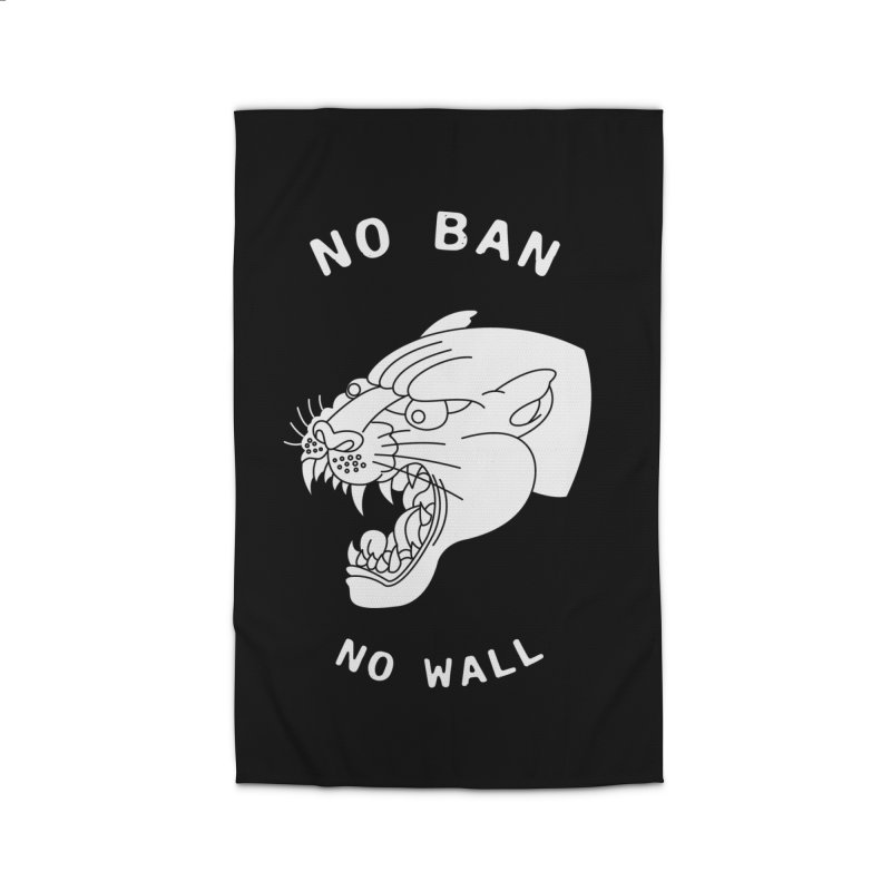 No Ban No Wall Home Rug by DEADBEAT HERO Artist Shop