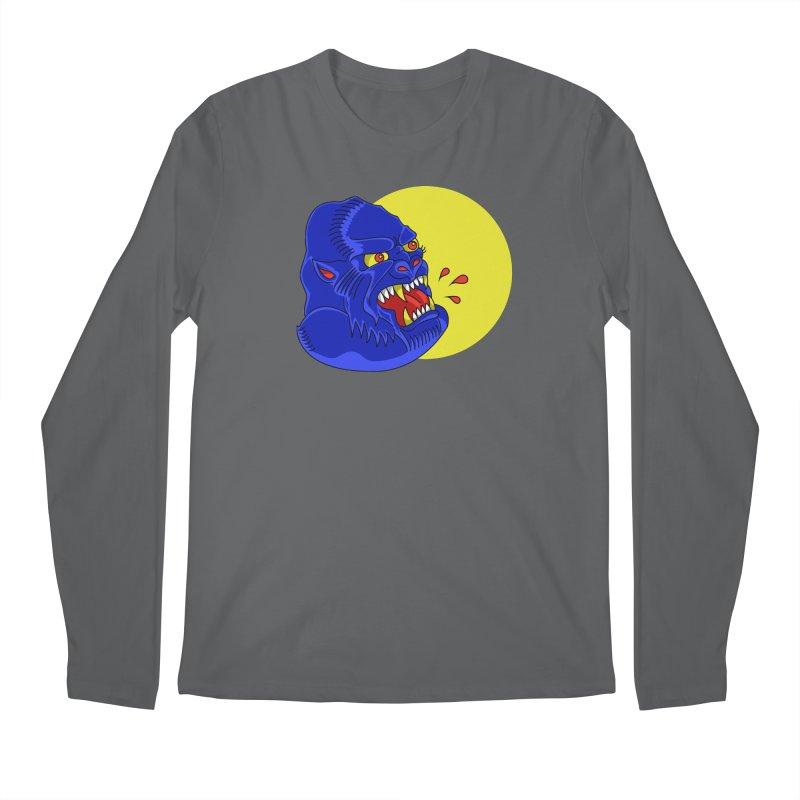 Beast Neck Men's Regular Longsleeve T-Shirt by DEADBEAT HERO Artist Shop