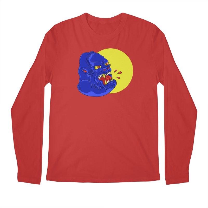 Beast Neck Men's Regular Longsleeve T-Shirt by DEADBEAT HERO Artist Shop