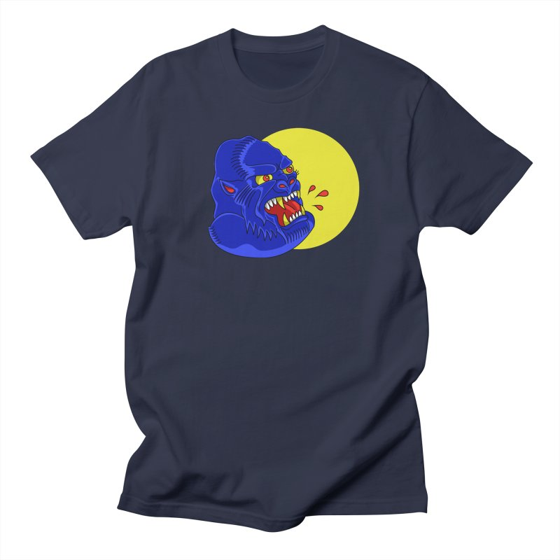 Beast Neck Men's T-shirt by DEADBEAT HERO Artist Shop