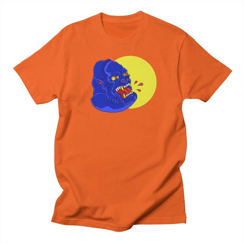Beast Neck Men's Regular T-Shirt by DEADBEAT HERO Artist Shop