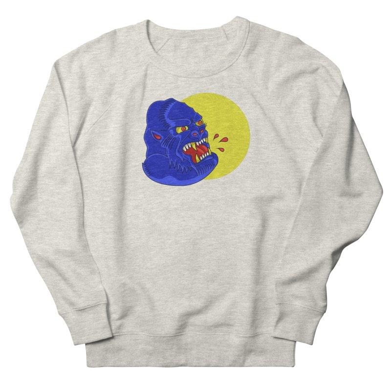 Beast Neck Men's French Terry Sweatshirt by DEADBEAT HERO Artist Shop
