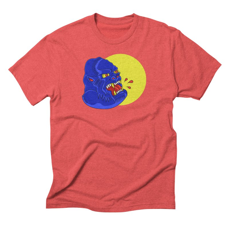 Beast Neck Men's Triblend T-Shirt by DEADBEAT HERO Artist Shop