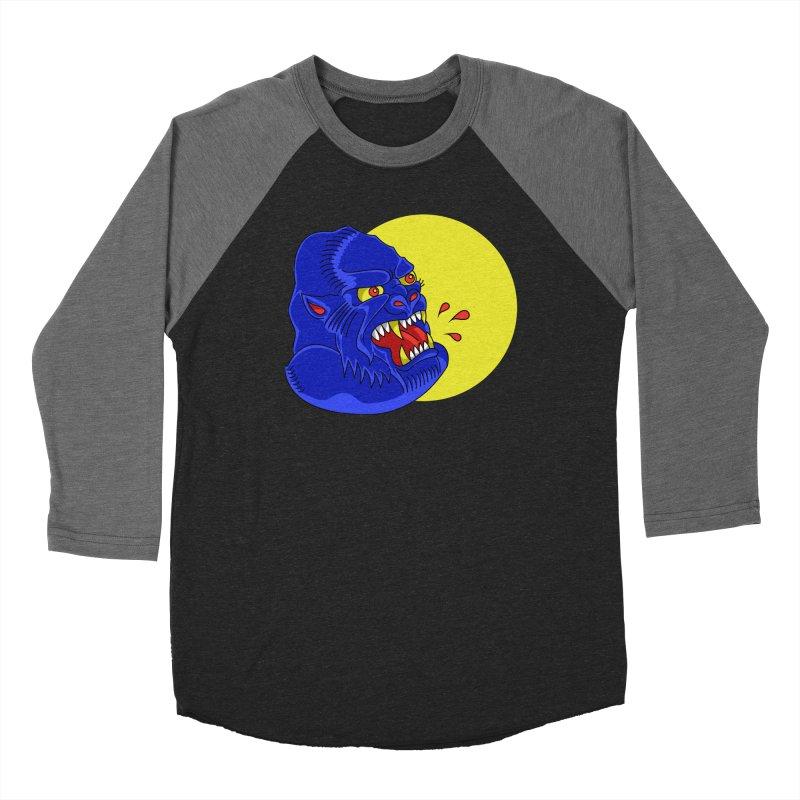 Beast Neck Women's Baseball Triblend T-Shirt by DEADBEAT HERO Artist Shop