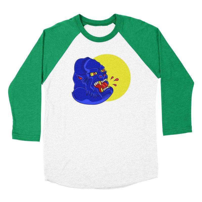 Beast Neck Men's Baseball Triblend T-Shirt by DEADBEAT HERO Artist Shop