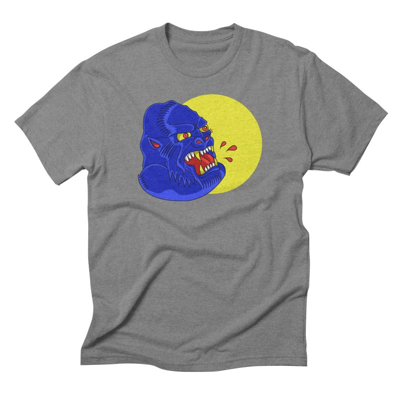 Beast Neck Men's Triblend T-shirt by DEADBEAT HERO Artist Shop