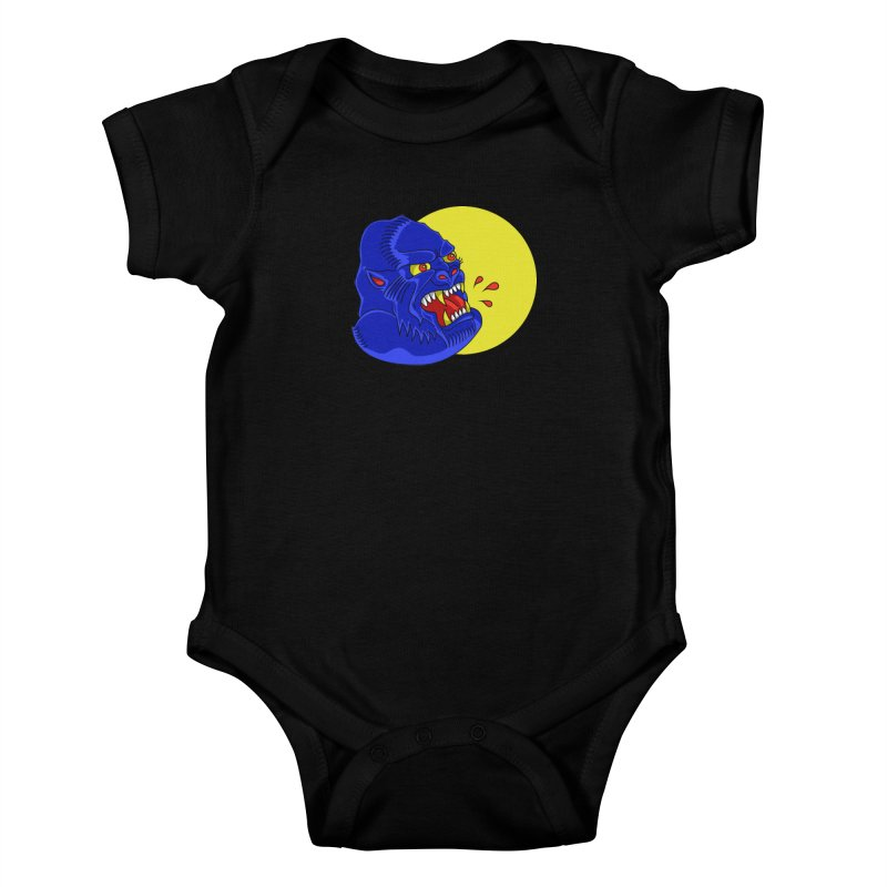 Beast Neck Kids Baby Bodysuit by DEADBEAT HERO Artist Shop