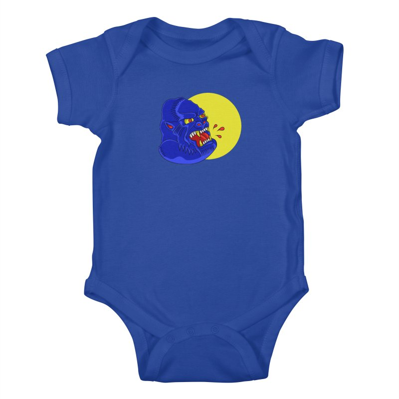Beast Neck Kids Baby Bodysuit by DEADBEAT HERO Artist Shop