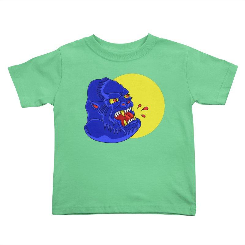 Beast Neck Kids Toddler T-Shirt by DEADBEAT HERO Artist Shop