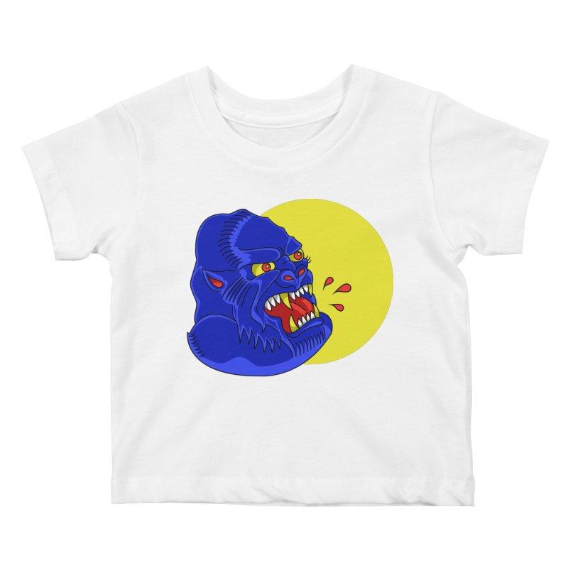 Beast Neck Kids Baby T-Shirt by DEADBEAT HERO Artist Shop